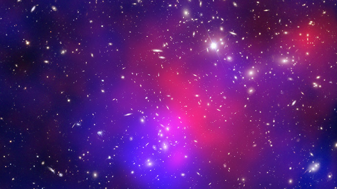 Plunge into the unknown: Four galaxy clusters discovered 10 billion light years away