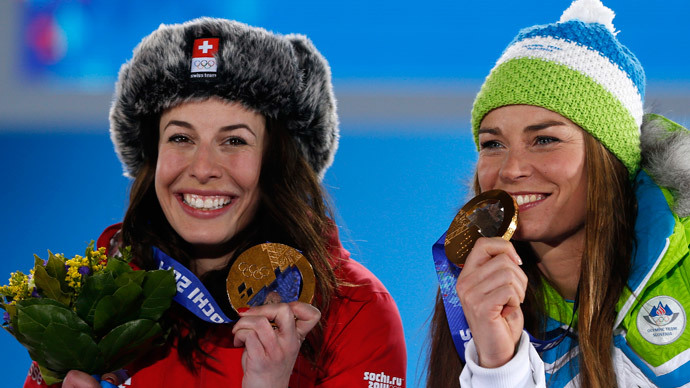 Rare gold split on Day 5 of Sochi Olympics