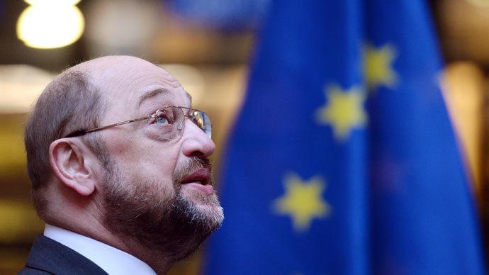 European Parliament President Martin Schulz.(AFP Photo / Patrick Hertzog)