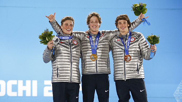 US joins chasing pack in overall standings on Day 6 of Sochi Olympics