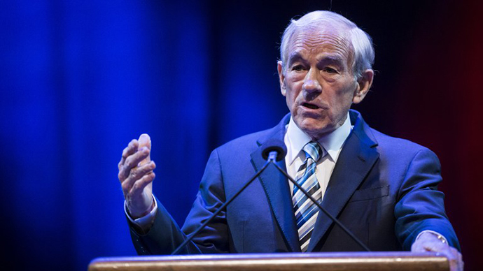 Former US Representative Ron Paul (R-TX) (AFP Photo / Brendan Smialowski)