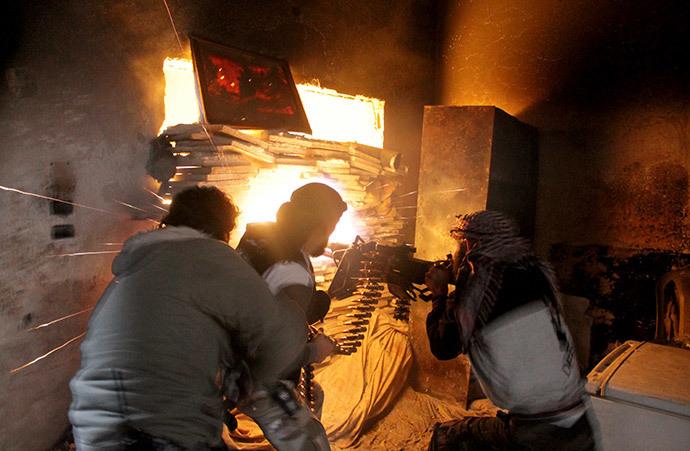 AFP Photo / Mahmud Al-Halabi