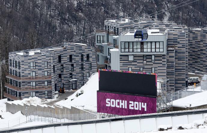 Rosa Khutor Alpine Resort in Krasnaya Polyana near Sochi (Reuters / Fabrizio Bensch)