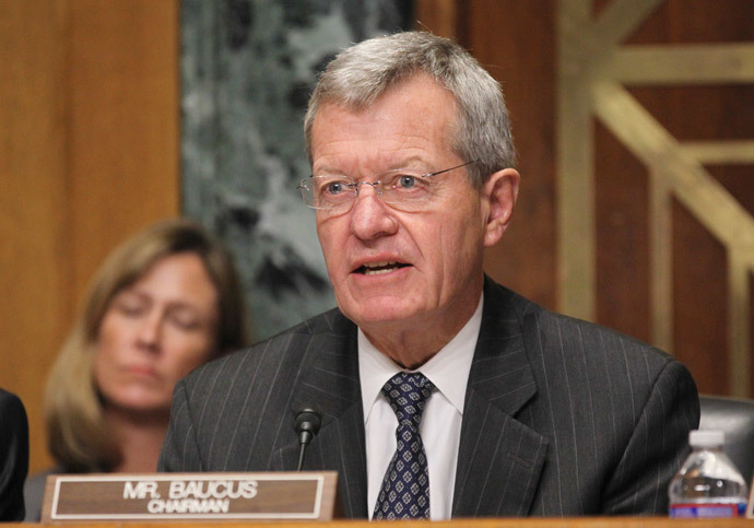 US Senate Finance Committee Chairman Max Baucus (Reuters / Jim Bourg)