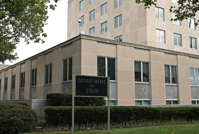 The US Department of State in Washington, DC (AFP Photo / Mark Wilson)