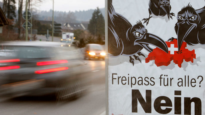 Switzerland rejects Croatia free movement deal after immigration referendum