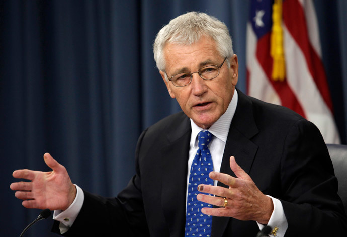 US Secretary of Defense Chuck Hagel (Reuters / Yuri Gripas)