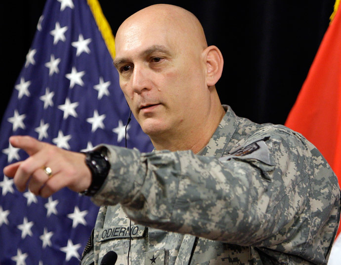 General Ray Odierno, commanding general of the Multinational Force Iraq (Reuters / Saad Shalash)