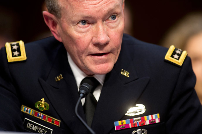 General Martin E. Dempsey, chairman of the Joint Chiefs of Staff (Reuters / Joshua Roberts)