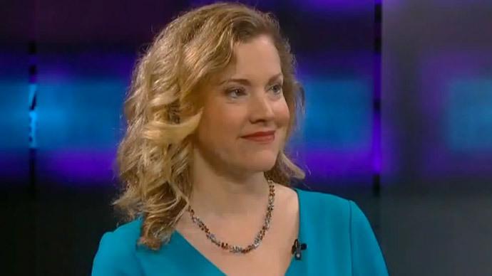 Jesselyn Radack.(Screenshot from RT video)