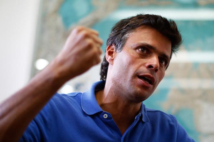 Venezuelan opposition leader Leopoldo Lopez.(Reuters / Jorge Silva)
