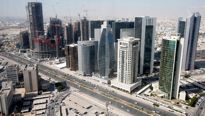 A general view of Doha city. (Reuters / Fadi Al-Assaad)