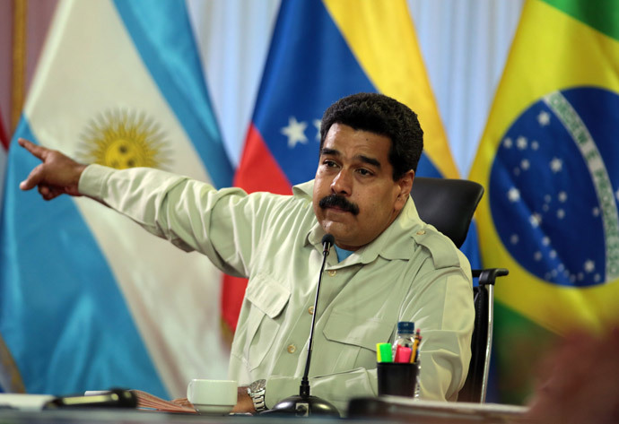 Venenzuelan President Nicolas Maduro ( AFP Photo / Presidencia / Handout)