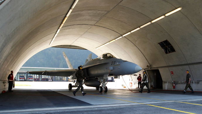 Swiss jets not scrambled over hijacked plane because 'airbases closed at night'