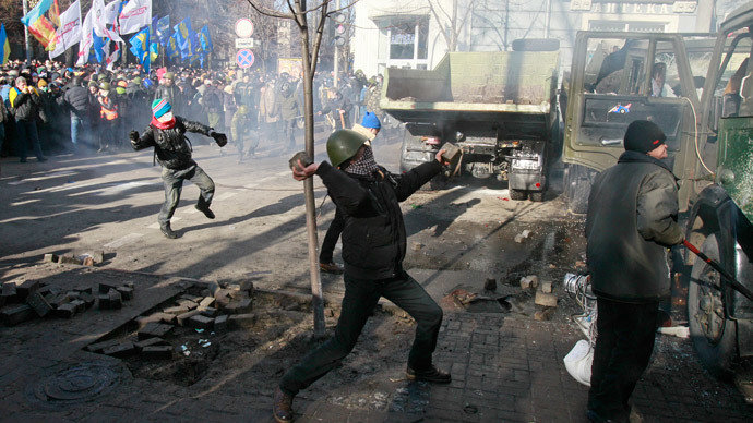 Talks between Ukrainian govt, opposition fail as Kiev gripped by unrest
