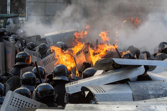 Kiev February 18, 2014.(Reuters / Vlad Sodel)