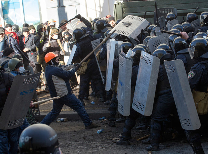 Kiev February 18, 2014.(Reuters / Vlad Sodel)