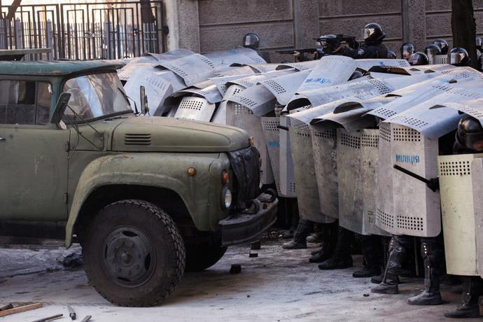 Kiev, February 18, 2014.(Reuters / Vlad Sodel)