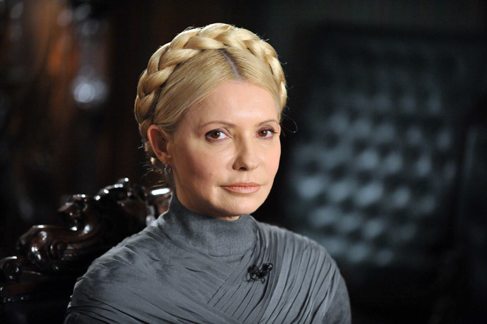 Yulia Tymoshenko.(AFP Photo / Sergei Supinsky)