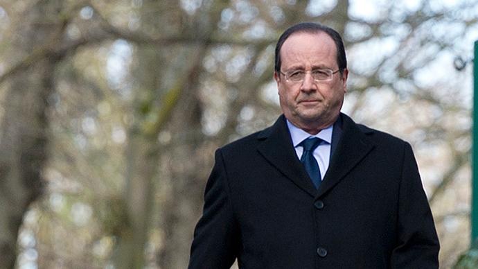 Ranskan presidentti Francois Hollande (Reuters / Alain Jocard)