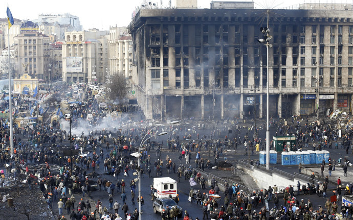 Kiovan 20 helmikuu 2014 (Reuters / Vasily Fedosenko)
