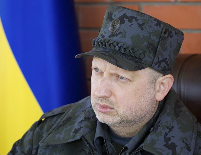 Aleksandr Turchinov (Reuters / Mykhailo Markiv / Ukrainian Presidential Press Service)