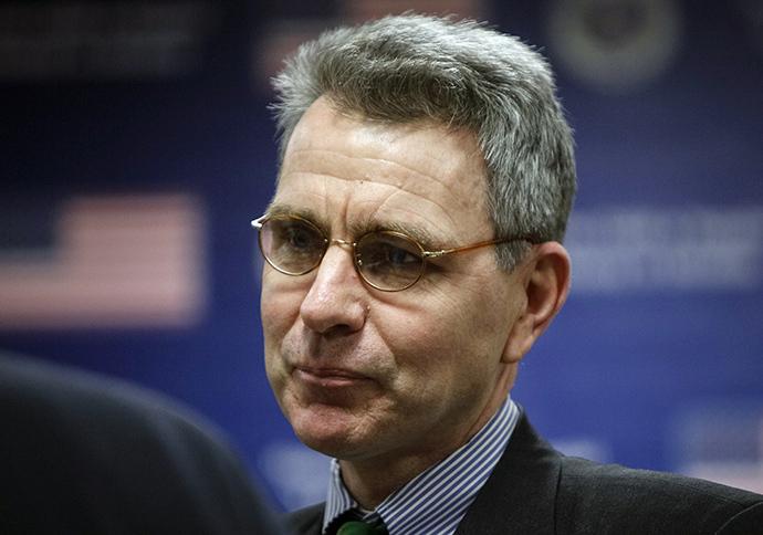 Yhdysvaltain suurlähettiläs Ukrainassa Geoffrey Pyatt (Reuters / Gleb Garanich)