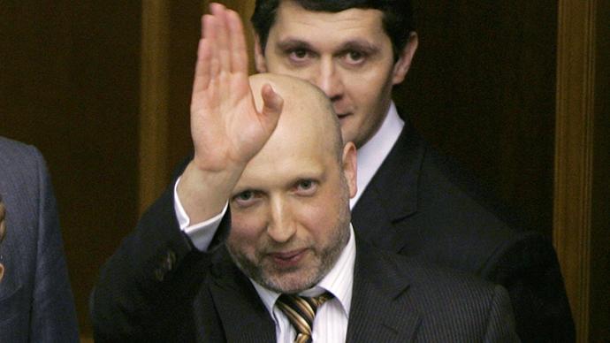 Aleksandr Turchinov (Reuters / Konstantin Chernichkin)