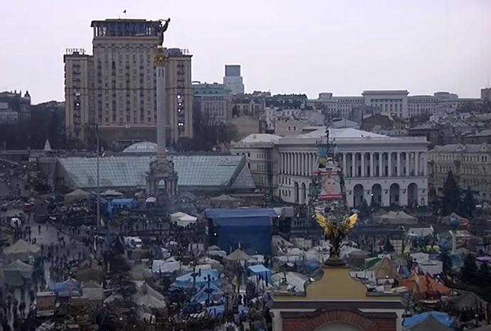 Kiova, 23 helmikuu 2013 (Still RT video)