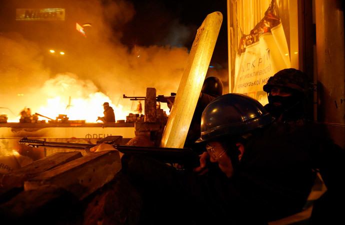 Kiova 18. helmikuuta 2014 (Reuters / Vasily Fedosenko)