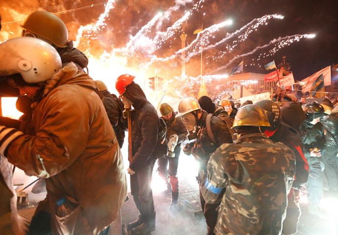 Kiev, February 18, 2014 (Reuters / Vasily Fedosenko)