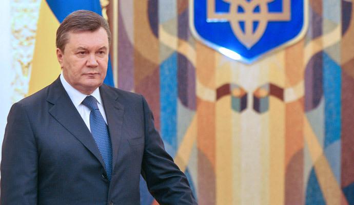 Ukrainan presidentti Viktor Janukovitshin (AFP Photo / Genya Savile)