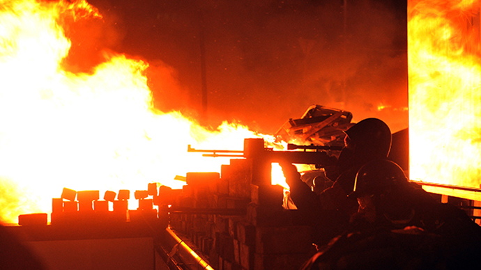 Rioters seize over 1,500 guns in Ukraine mayhem - security services