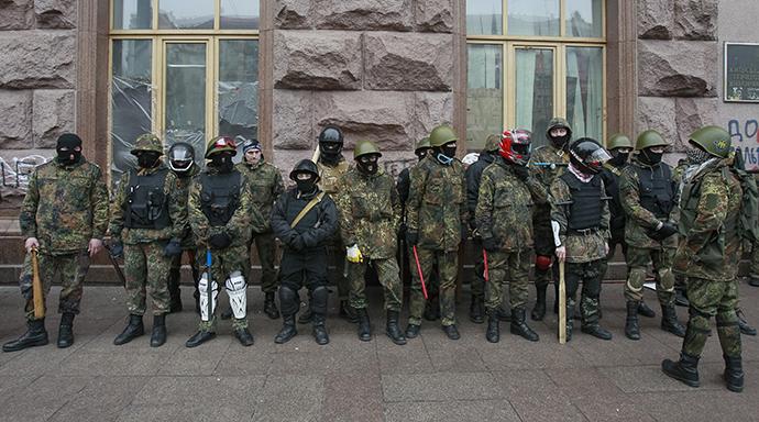 Kiev, February 16, 2014. (Reuters / Gleb Garanich)