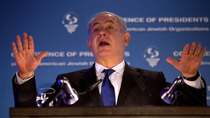 Israeli PM brands boycotters 'anti-Semites,' bent on 'destruction of Jewish state'