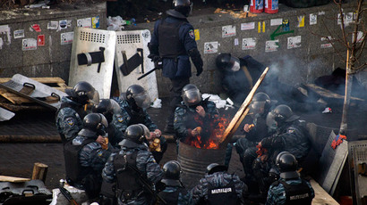 Rioters thrashed, handcuffed governor of Ukrainian region to make him resign