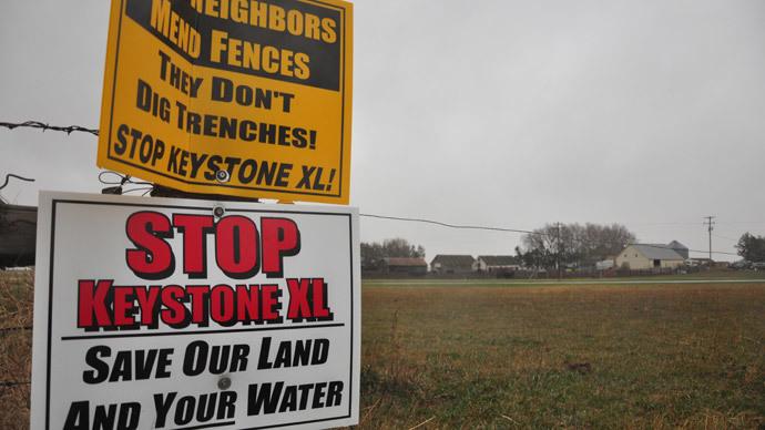 Judge: Nebraska governor exceeded authority in approving Keystone pipeline
