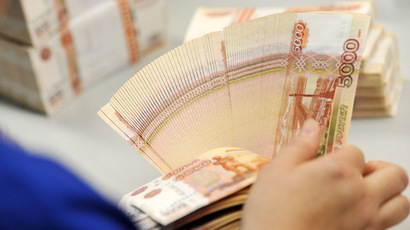 Ruble, stocks slide over growing Ukraine tension