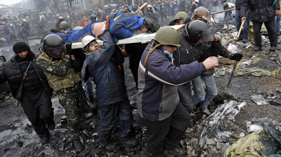 12 most dramatic Kiev videos showing true scale of Ukraine mayhem