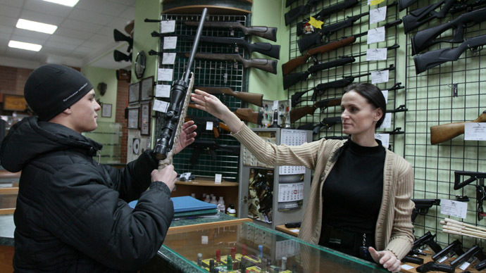 Pro-gun lobby wants to turn Russian homes into fortresses