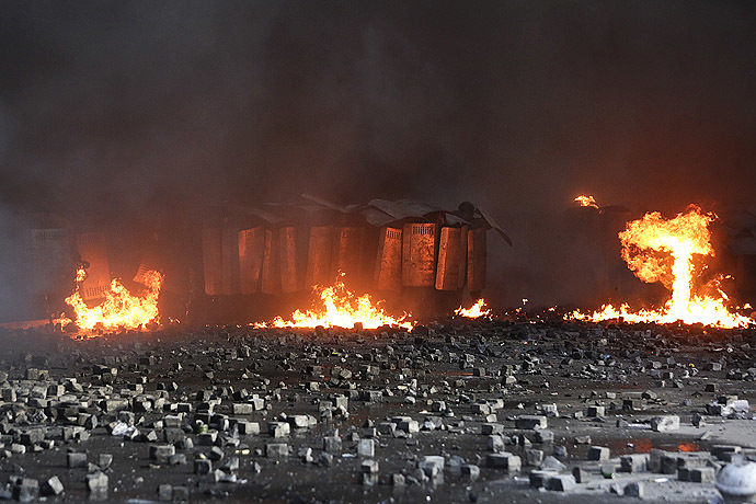 Kiev, February 18, 2014 (Reuters/Konstantin Chernichkin)