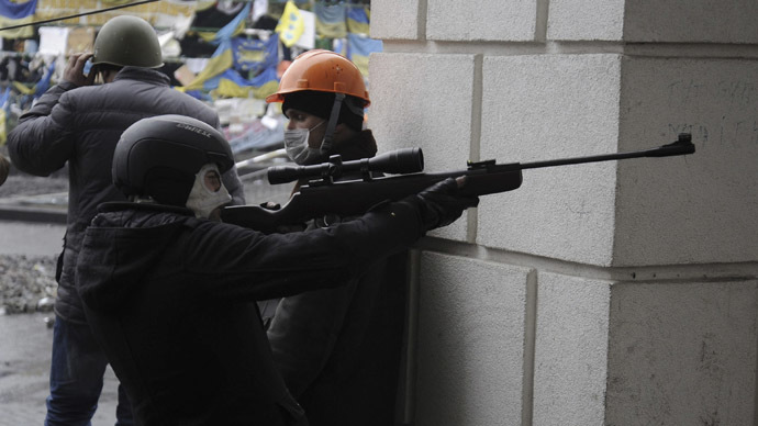 Kiev snipers shooting from bldg controlled by Maidan forces – Ex-Ukraine security chief