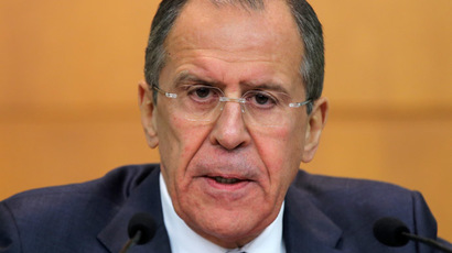 Those who seized power in Kiev want to sour relations between West & Russia - Lavrov