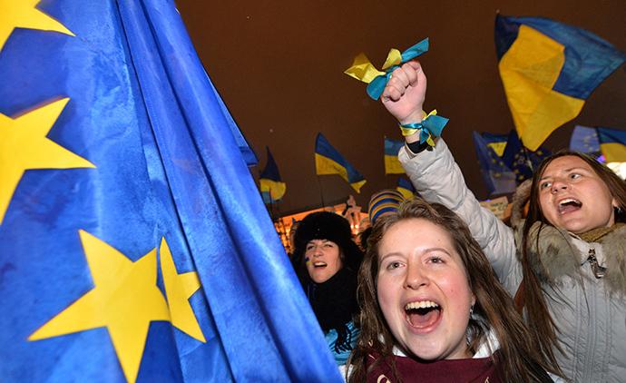 Kiev, November 28, 2013. (AFP Photo / Sergei Supinsky)