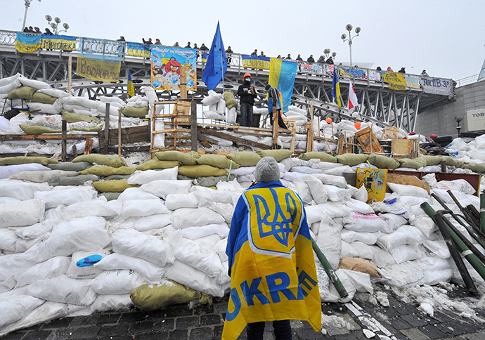 Kiev, December 12, 2013. (AFP Photo / Viktor Drachev)