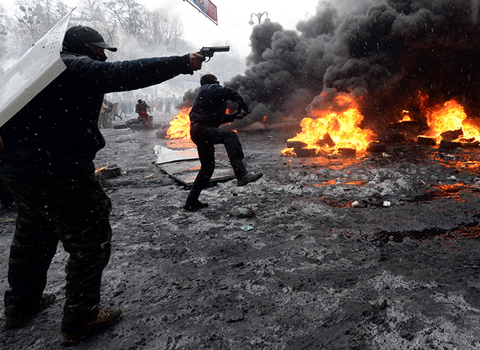 Kiev, January 22, 2014. (AFP Photo / Vasily Maximov)