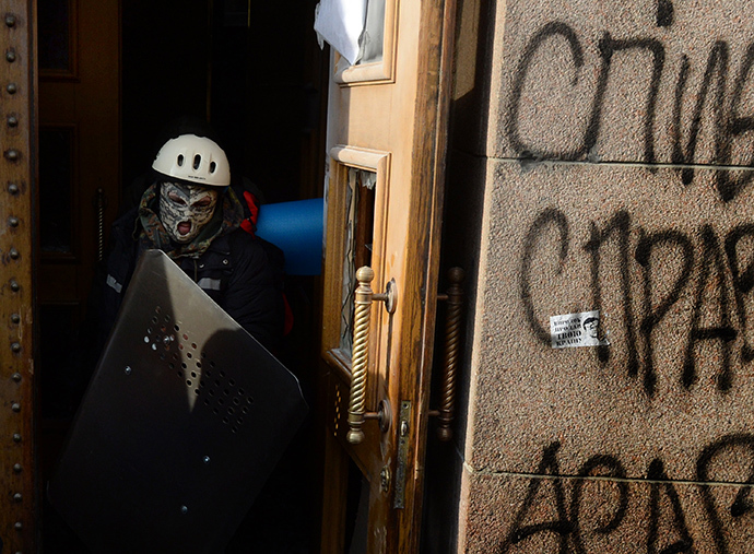 Kiev, January 29, 2014. (AFP Photo / Vasily Maximov)