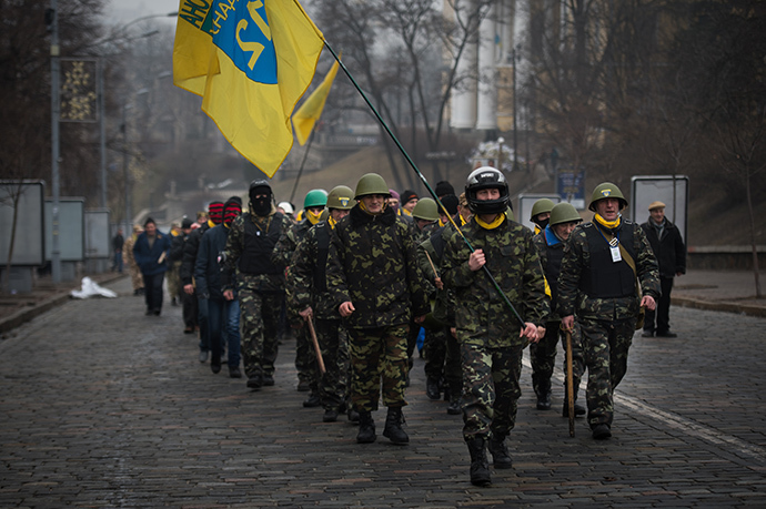 Kiev, February 15, 2014. (AFP Photo / Martin Bureau)
