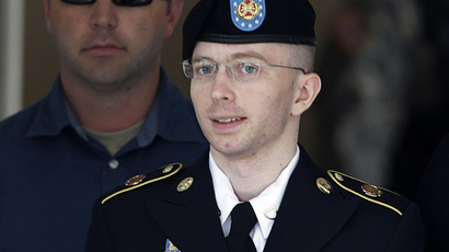 Pentagon considering moving Manning to civilian prison to receive hormone therapy