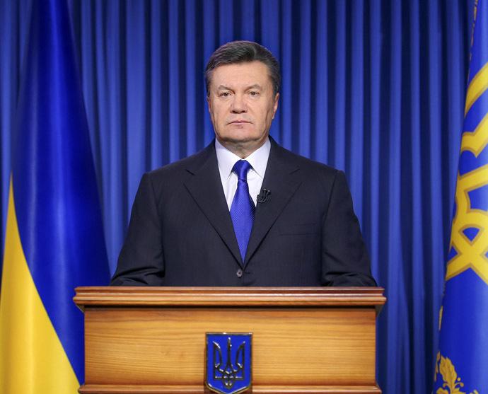President of Ukraine Viktor Yanukovych (RIA Novosti/Andreі Mosienko)